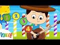 The Numbers Song - Pongo! Nursery Rhymes for Children with Lyrics and Action
