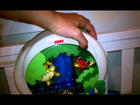 Review Fisher Price Rainforest Crib Soother