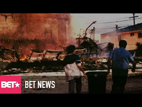 California African-American Museum Opens 25th Anniversary Exhibit of LA Riots - BET News