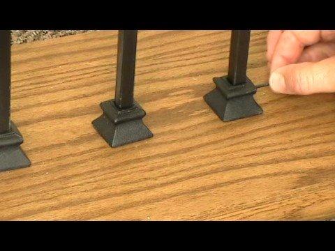 Iron Baluster Shoes Youtube