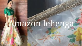 *wedding special*Amazon lehenga|Amazon lehenga review|online shopping review|lehenga online