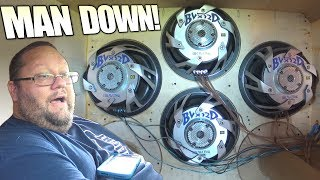 "RARE SUBWOOFER Gets Blasted w/ 12"" BRAVOX Sub & Big 4th Order Bandpass Build on Skar Audio DDX Subs"