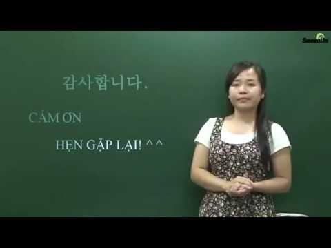 Hoc Tieng Han So Cap - Bai 13 - Ke Ca Troi Mua Van Phai Di Ra Ngoai