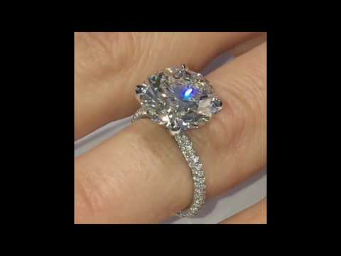 5.50 ct Round Diamond Engagement Ring