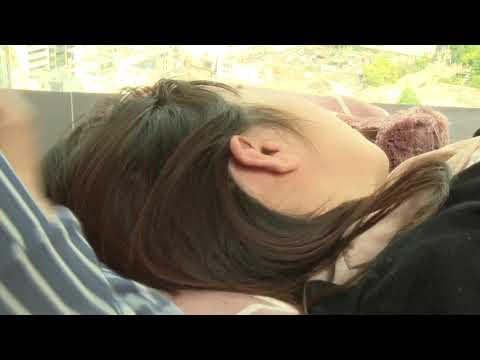 別カメラアングル ユーチューブスペースで耳掃除 女性モデル YouTube space Tokyo Ear cleaning