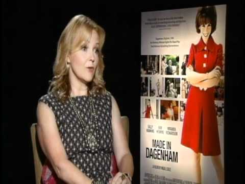 with Miranda Richardson for Made In Dagenham