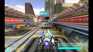 PPSSPP Emulator 1.0 for Android | Wipeout Pulse [720p HD] | Sony PSP