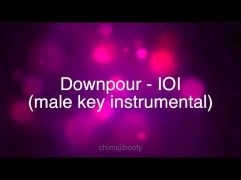 Downpour - IOI Male Key Instrumental   Chimsjibooty