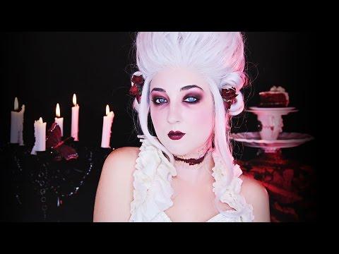ZOMBIE Marie Antoinette Makeup Tutorial