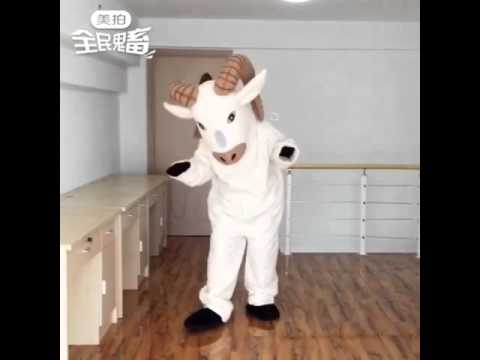 Suit up: New Ram Mascot Costume