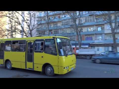ავტობუსები თბილისში Buses in Tbilisi, Georgia 2017