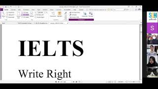 OSIS ICP | Part 2 of IELTS Class | Writing and Speaking Section