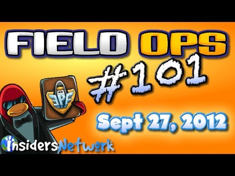 Club Penguin: Field Ops 101 - September 27 - Fish Dog Carts