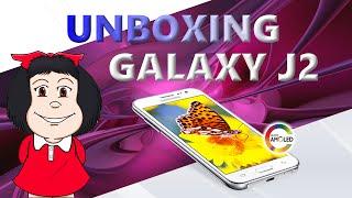 unboxing smartphone galaxy j2 4g 8gb