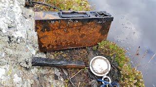 Magnet fishing INCREDIBLE German WW2 artifacts . AMAZING !