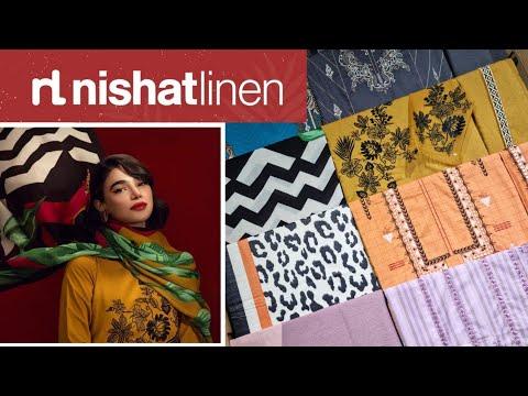NishatLinen Winter Collection 2021 New Arrival Part 1