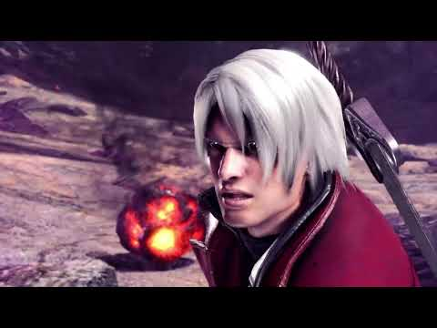 Monster Hunter World Devil May Cry Dante Gameplay - DMC Collaboration Trailer