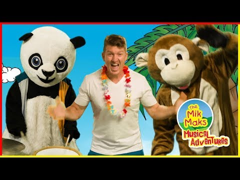 Coconuts - Kids Song with Actions - Children's Music - The Mik Maks