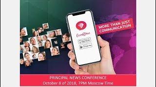 GEM4ME. PRINCIPAL NEWS CONFERENCE. October 08 of 2018