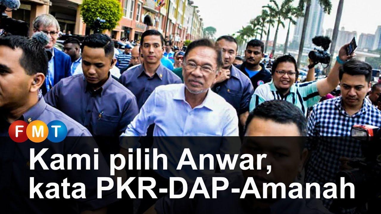 Image result for ph pilih anwar sebagai pm