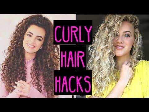 Curly hair girl porn