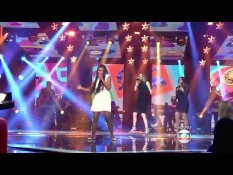 Malu Cavalcanti canta 'Eu Não Vou' no The Voice Kids - Shows ao Vivo   Temporada 1