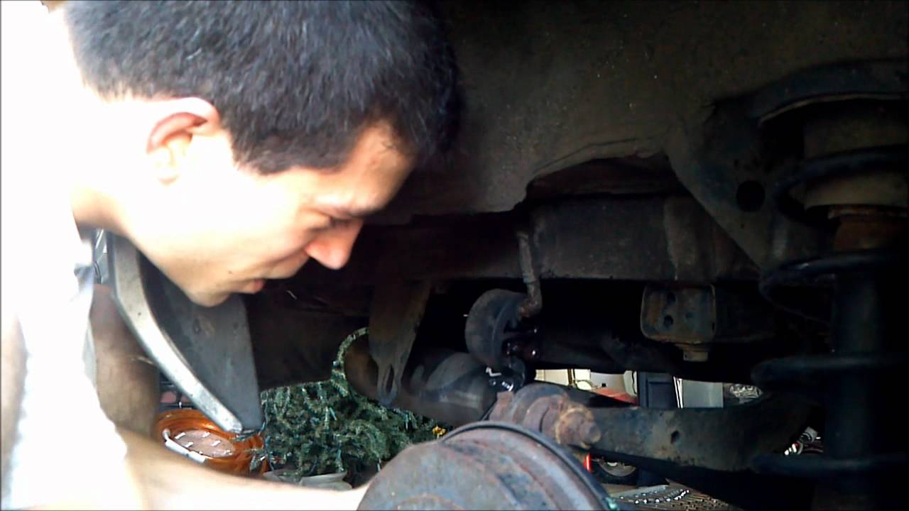 hight resolution of how to remove rubber exhaust hangers