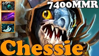 Dota 2 - Chessie 7400 MMR Plays Slark vol 2 - Pub Match Gameplay