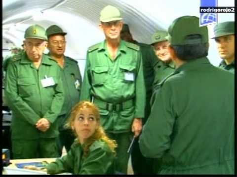 Cubavision(Cuban Commanders Inspects Military Maneuvers)