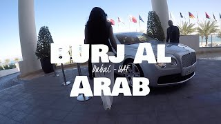 Burj Al Arab Afternoon Tea│Dubai, United Arab Emirates