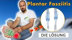 So wirst du Plantar Fasziitis los (Nie wieder Schmerzen an der Ferse)