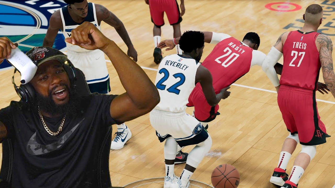 Download MY FIRST NBA GAME! Pat Beverly HARD TECH FOUL! NBA 2K22 MyCareer Ep 12