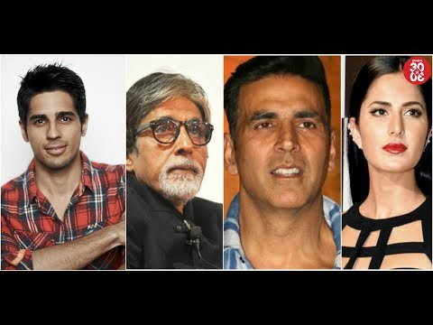 Sidharth Reveals His Bollywood Style Icon | Big B, Akshay, Katrina's Special Messages On Woman's Day