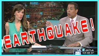 THE ULTIMATE LIVE NEWS FAILS ► EARTQUAKE COMPILATION - Pt. 11 - HD