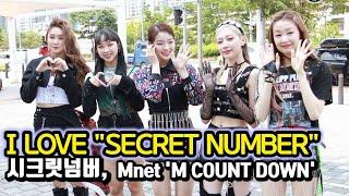 200528 시크릿넘버, 세계로 뻗어가는 K-Pop 신인 그룹 (Mnet '엠카운트다운' 출근길)