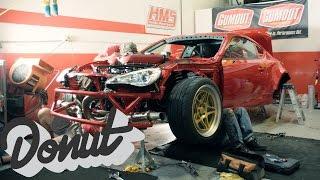 Ferrari Powered Toyota, GT-4586. Final build update w/ Ryan Tuerck | The GT4586 | Donut Media