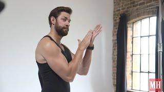 John Krasinski Muscles Up for Men's Fitness 2015