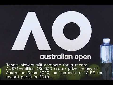 Australian Open 2020 To Have Record Prize Money Of Rs.350 Crore