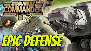 Star Wars Commander Empire #117 - EPIC Defense !