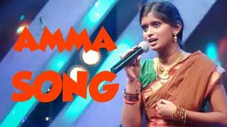 Amma Song!! Rajalakshmi!! Super Singer...🧡