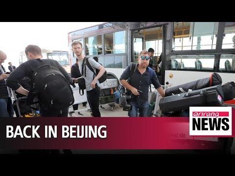 Int'l reporters leave North Korea after covering demolition of Punggye-ri nuke test site