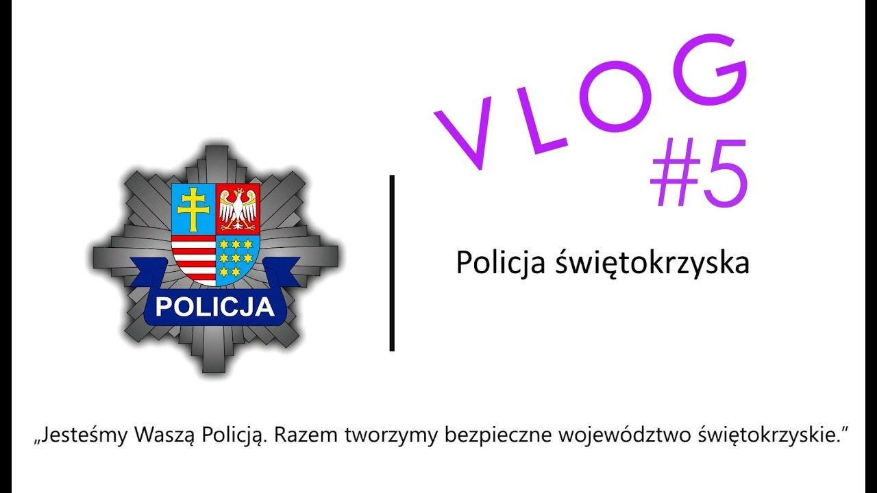 Vlog #5 // O policjantach Oddziału Prewencji Policji w Kielcach