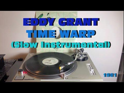 Eddy Grant - Time Warp (Afro-Funk 1981) (Slow Instrumental 33 Rpm) COSMIC SOUND - FULL HD