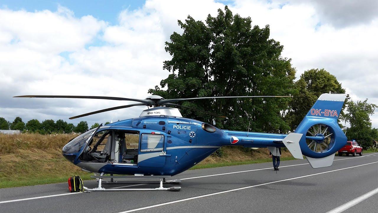 Elicottero Ec 135 : Ec helicopter take off youtube