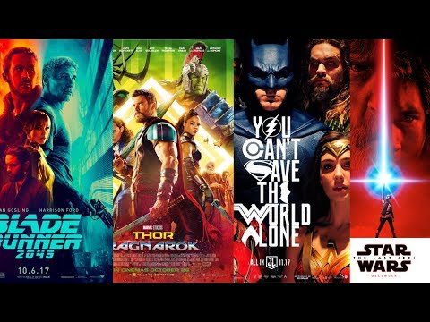 The Geeky Movies of 2017: October, November & December