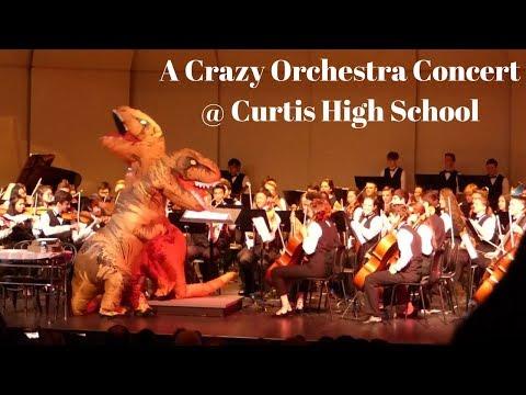 Curtis High School Orchestra Spring 2018 Concert