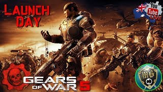 Gears 5 ⚙️ Gears Of War 5 Launch Day Live Game Play