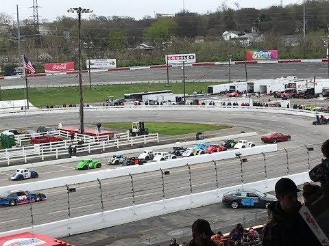 March 25, 2018. Oliver Cordell's Legends Race @ Fairgrounds Speedway Nashville. Season Opener.