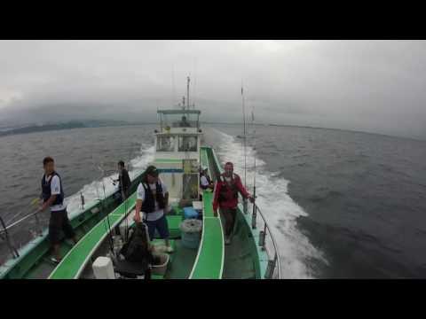 tochigi grupo de pesca na captura do shiira 8