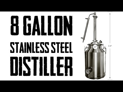 Stainless Steel Distiller